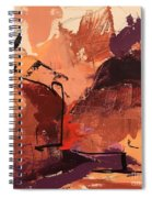 Cliffside Spiral Notebook