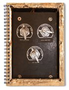 Climate Control Spiral Notebook