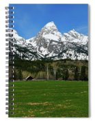 Climbers Ranch In Spring Spiral Notebook
