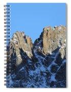 Climbers Sunlit Challenge Spiral Notebook