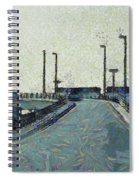 Climbing A Ramp On The Highway Spiral Notebook