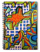 Climbing Abstractly  Spiral Notebook