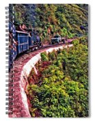 Climbing The Himalayas Spiral Notebook