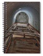 Climbing The Silo Spiral Notebook