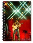 Clint Black-0821 Spiral Notebook