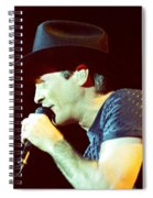 Clint Black-0840 Spiral Notebook