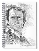 Clint Eastwood As Callahan Spiral Notebook