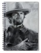 Clint Eastwood Spiral Notebook