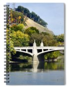 Clinton St. Bridge Prospect Mountain Binghamton Ny Spiral Notebook