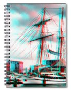 Clipper City - Use Red-cyan 3d Glasses Spiral Notebook