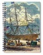 Clipper: Flying Cloud, 1851 Spiral Notebook