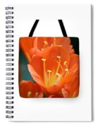 Clivia Tote Bag Spiral Notebook