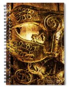 Cloaking A Kingdom In Demise Spiral Notebook