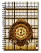 Clock Dorsay Museum Spiral Notebook