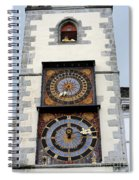Clock Tower Spiral Notebook