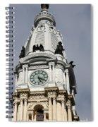 Clock Tower City Hall - Philadelphia Spiral Notebook