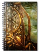 Clockmaker - The Day Time Stood Still  Spiral Notebook