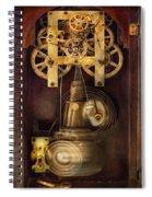 Clockmaker - The Mechanism  Spiral Notebook