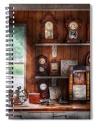Clocksmith - In The Clock Repair Shop Spiral Notebook