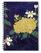 Cloisonee' Flower Spiral Notebook