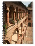 Cloistered Courtyard Spiral Notebook