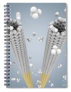 Cloning Carbon Nanotubes Spiral Notebook