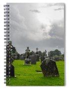 Clonmacnoise Monastery Spiral Notebook