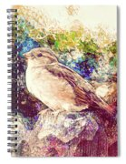 Close Encounters Of The Bird Kind Spiral Notebook