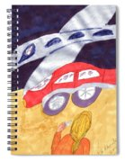Close To My New Car Spiral Notebook
