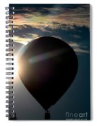 Close To The Sun Spiral Notebook