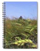 Close-up Of A Cornfield Spiral Notebook