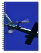 Close Up Of Helicopter Vh Lee Spiral Notebook