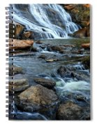 Close Up Of Reedy Falls In South Carolina Spiral Notebook