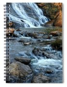 Close Up Of Reedy Falls In South Carolina II Spiral Notebook