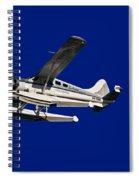 Close Up  Vh-swb Spiral Notebook