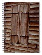 Closed In Sepia Spiral Notebook