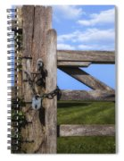 Closed Paddock Spiral Notebook