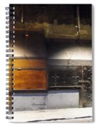 Closed Shop Stall Doors Spiral Notebook