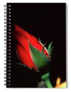 Closed To Darkness Spiral Notebook