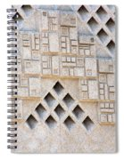 Closeup Of Federal Courthouse Roswell Spiral Notebook