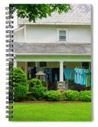 Clothes On The Front Porch Spiral Notebook