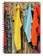 Clothes Rack Spiral Notebook