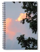 Cloud And Blue Sky Spiral Notebook