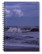 Cloud And Wave Seaside New Jersey Spiral Notebook
