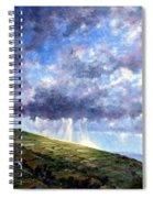 Cloud Burst Ireland Spiral Notebook