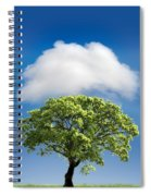 Cloud Cover Spiral Notebook