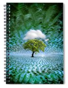 Cloud Cover Recurring Spiral Notebook