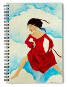 Cloud Dancing Of The Sky Warrior Spiral Notebook