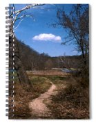 Cloud Destination Spiral Notebook