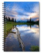 Cloud Explosion Spiral Notebook